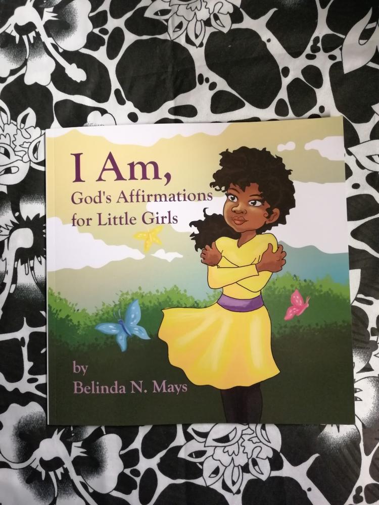 I Am, God´s Affrimations for little girl