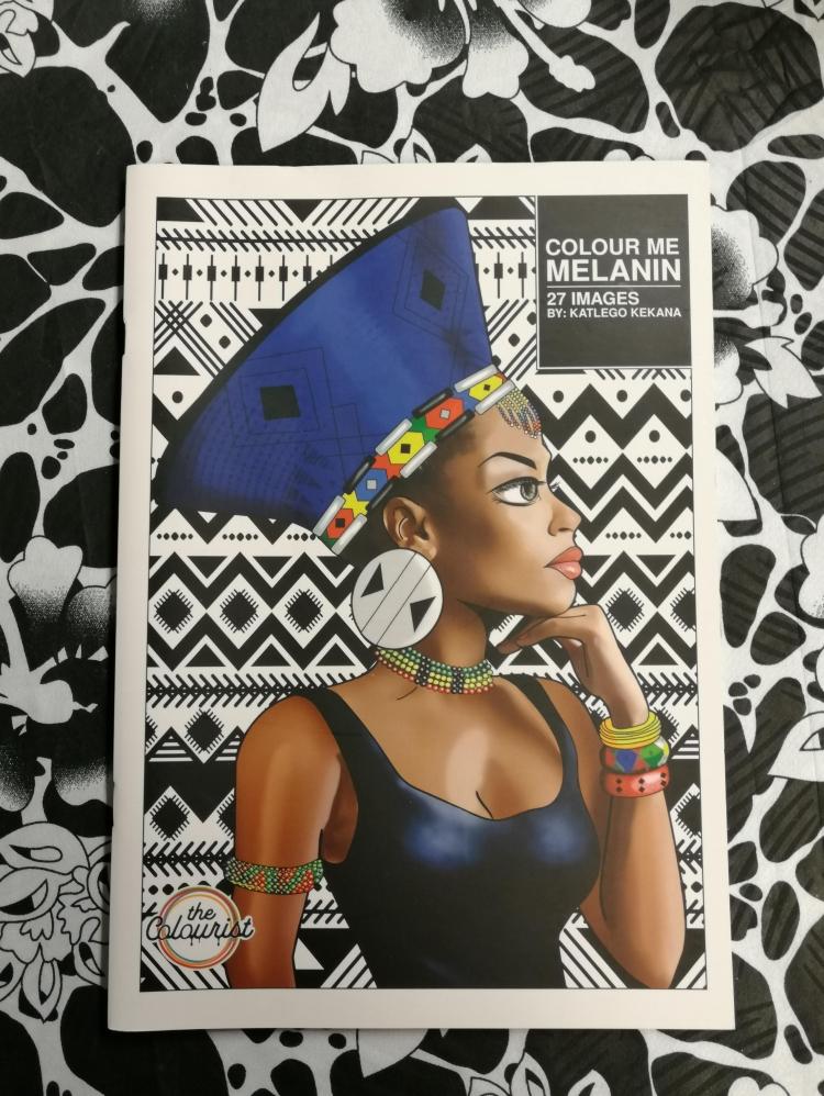 Colour me melanin kleurboek