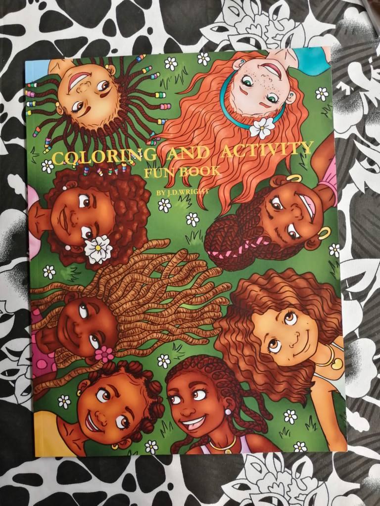 Kleur- en activiteitenboek